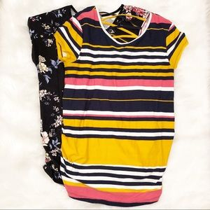 Derek Heart Maternity t-shirt bundle medium